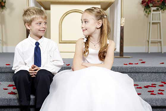 Keep Kids Busy at Your Wedding