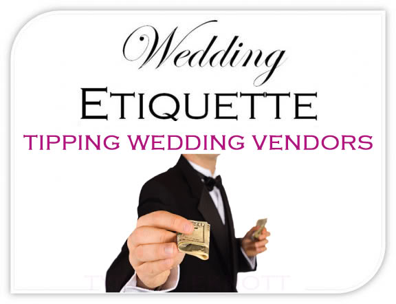 Who to Tip at Your Wedding