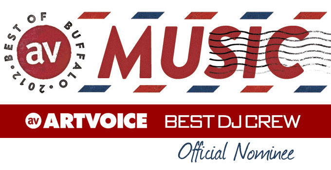 Nominated Best DJ Crew by Artvoice