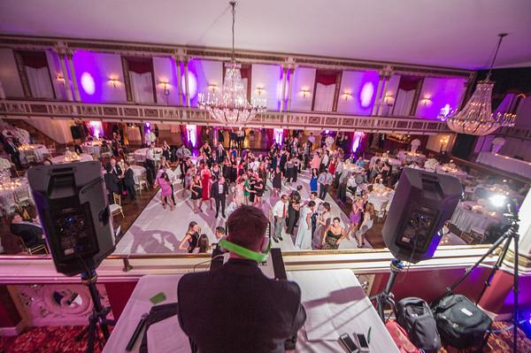 Jeff Toy DJ's a wedding at Statler City in Buffalo, NY