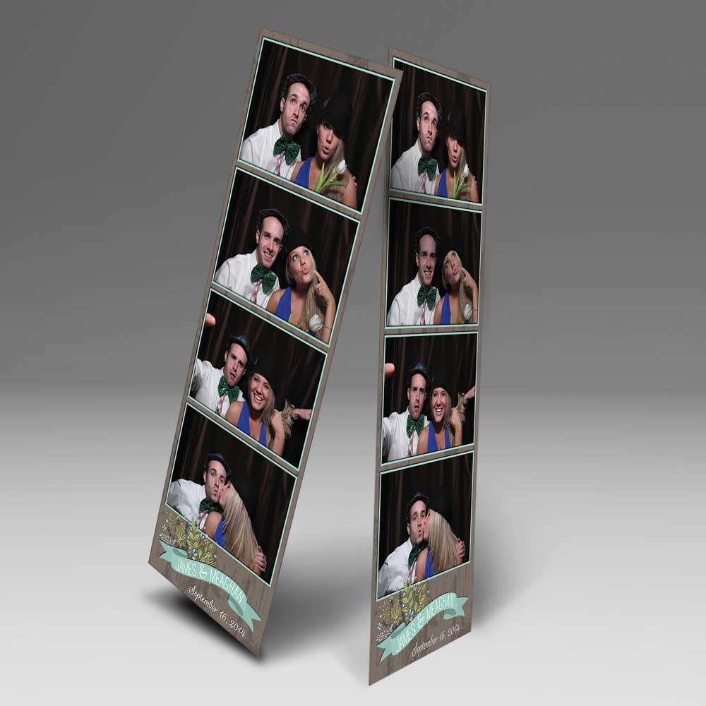 2x6 Photo Strip Prints from Photo Booth provided by Toy Bros Entertainment in Buffalo, NY